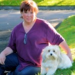 Kateyanne Unullisi and her therapy dog, Luna